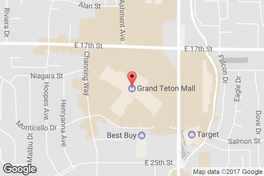 Map of Grand Teton Mall - Click to view in Google Maps